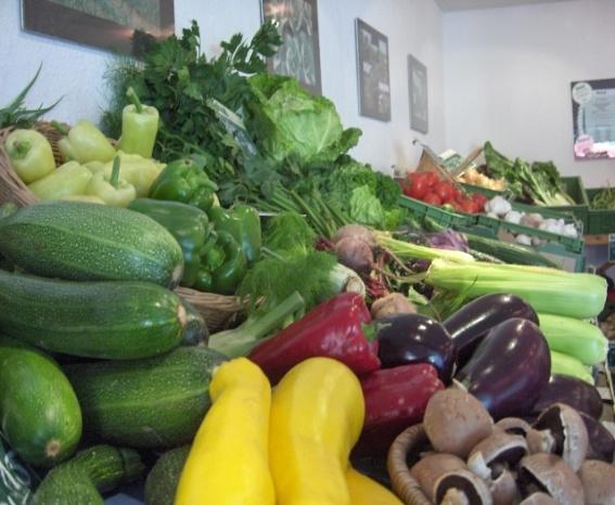 Gemüse im Hofladen